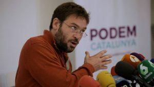 Albano Fachín de Podem Cataluña
